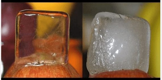 What Does Clear Ice Look Like?