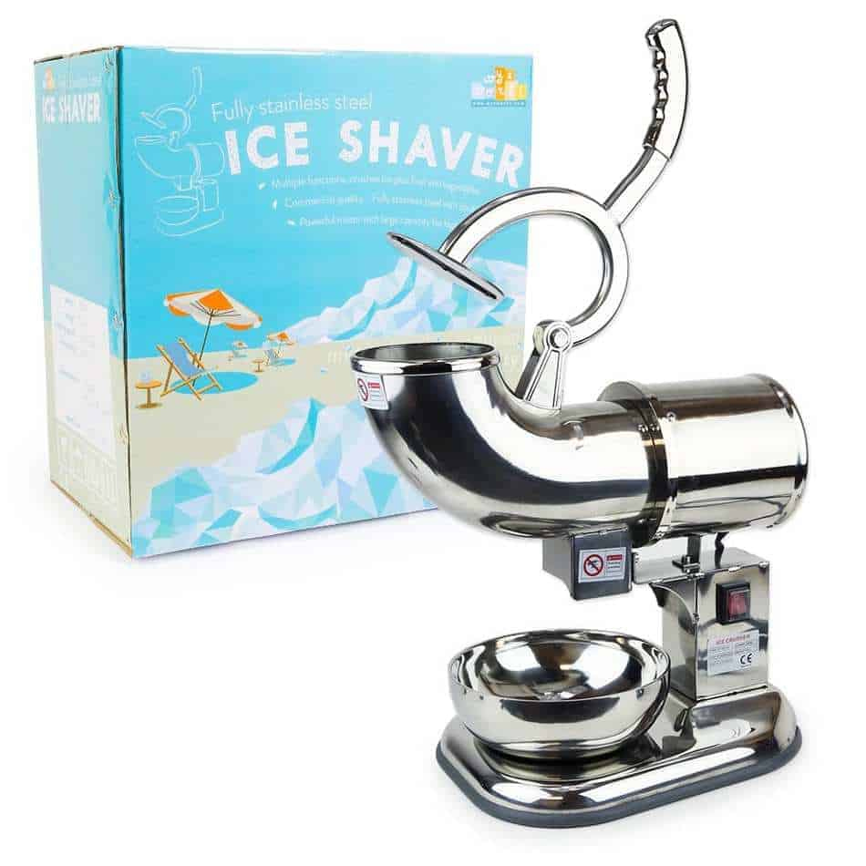WYZworks Stainless Steel Commercial Heavy Duty Ice Shaver Review
