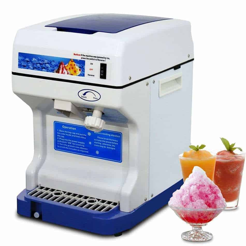 Super Deal PRO Commercial Ice Shaver Snow Cone Maker Review