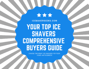 top ice shavers