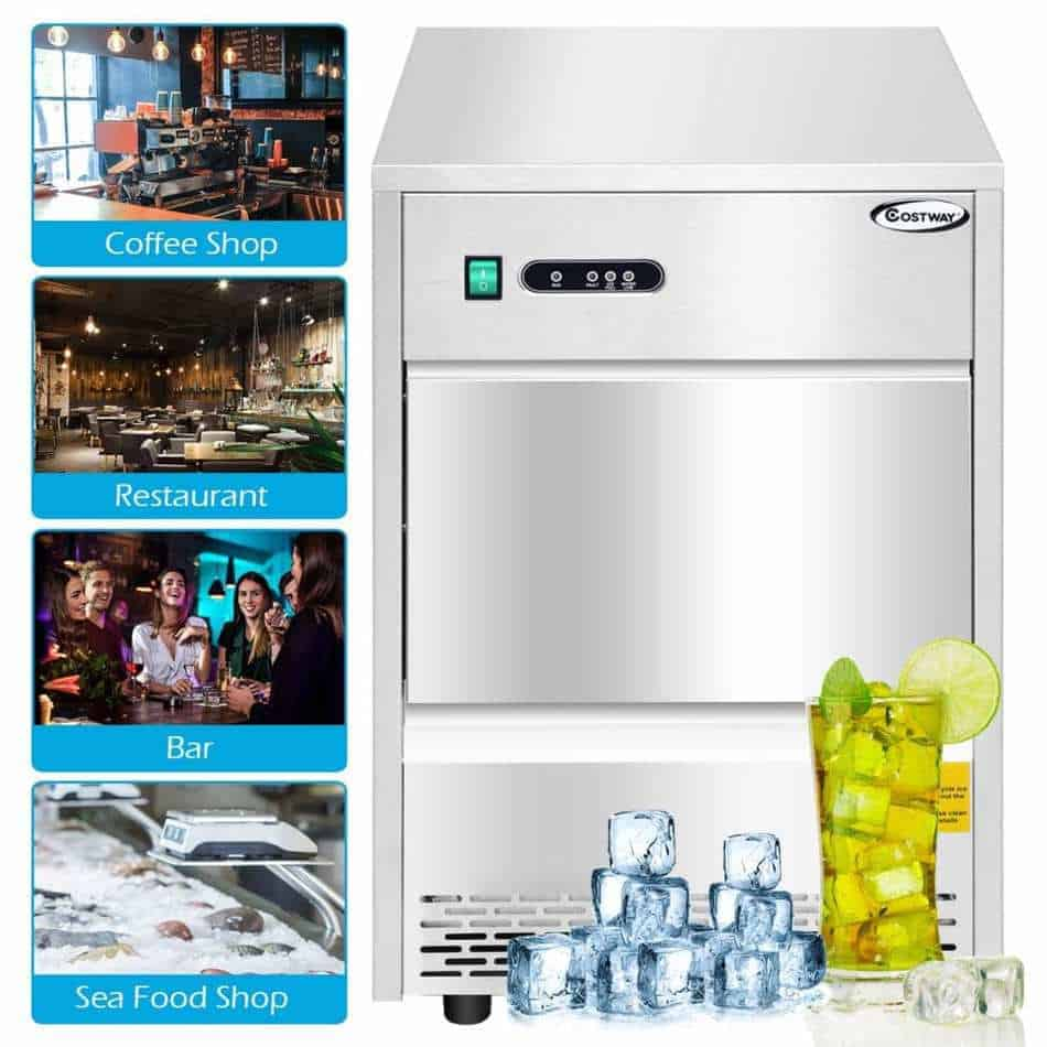 The Costway Commercial Ice Maker (Best For Affordability)