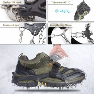 Ice Cleats Shoes