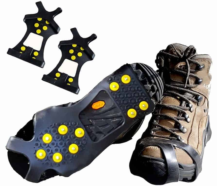 Limm Ice Traction Cleats Pro (MOST AFFORDABLE)