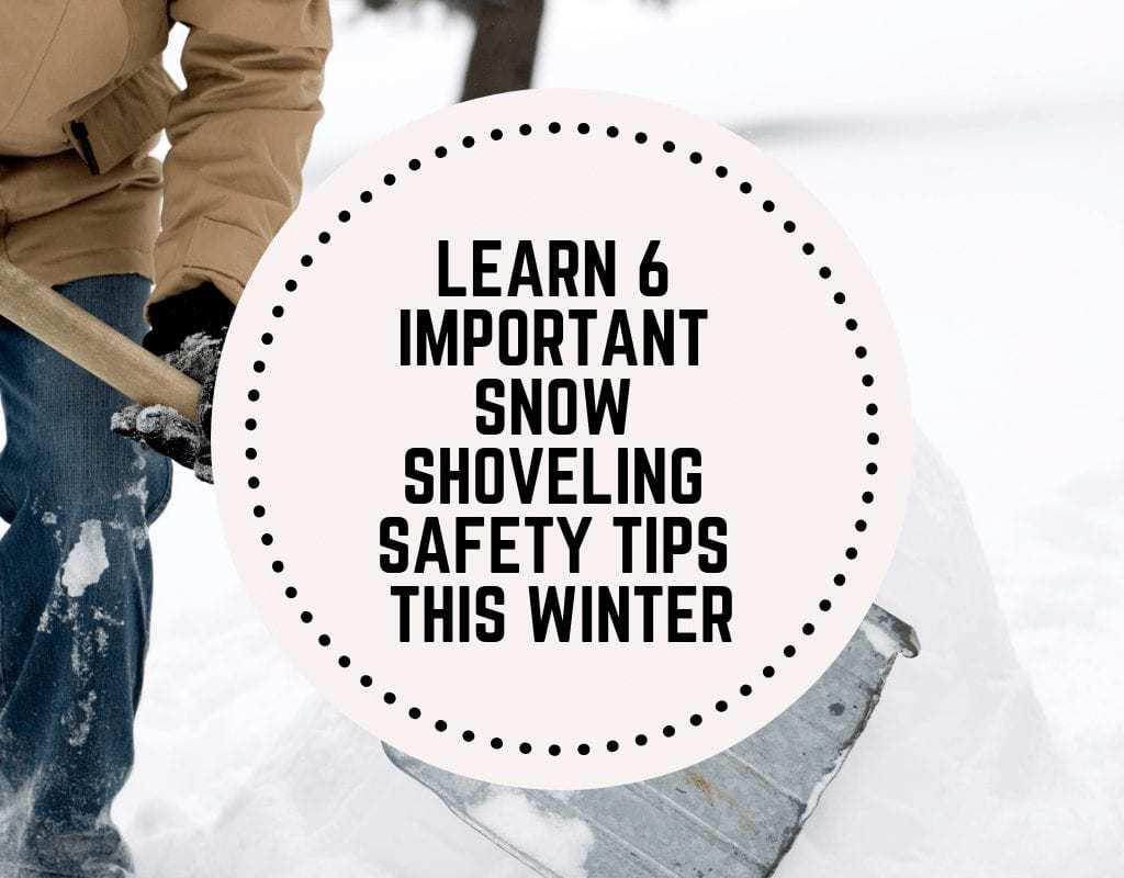 Important Show Shoveling Safety Tips