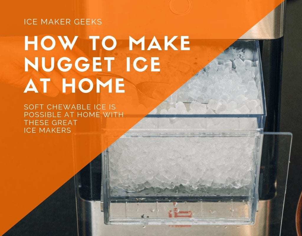 Make Nugget Ice At Home