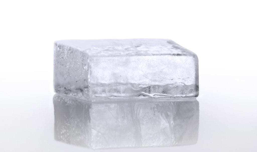 half a Cube of Ice