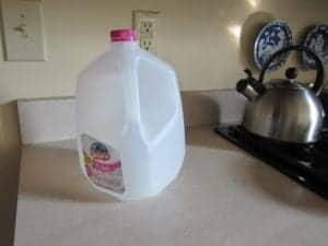 Empty Milk Jug