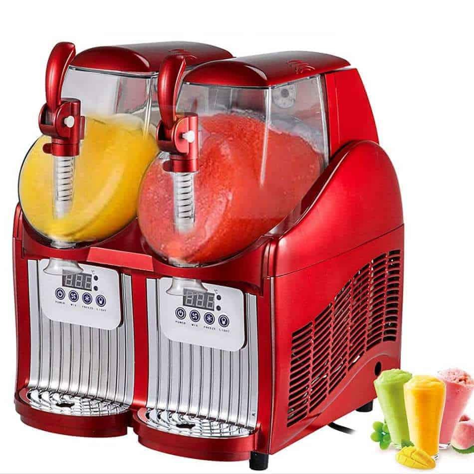 VEVOR Slushy Machine 110V Mini Slush Frozen Drink Machine Commercial Smoothie Maker Review