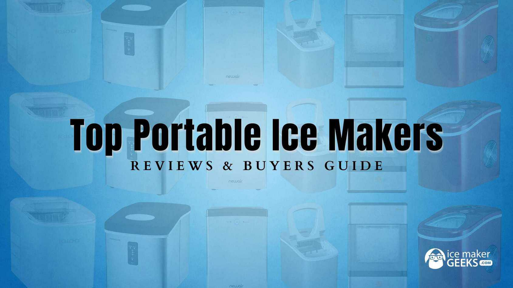 top portable ice makers