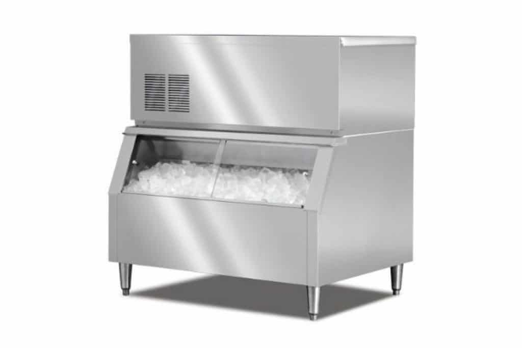 how to clean a commercial ice maker