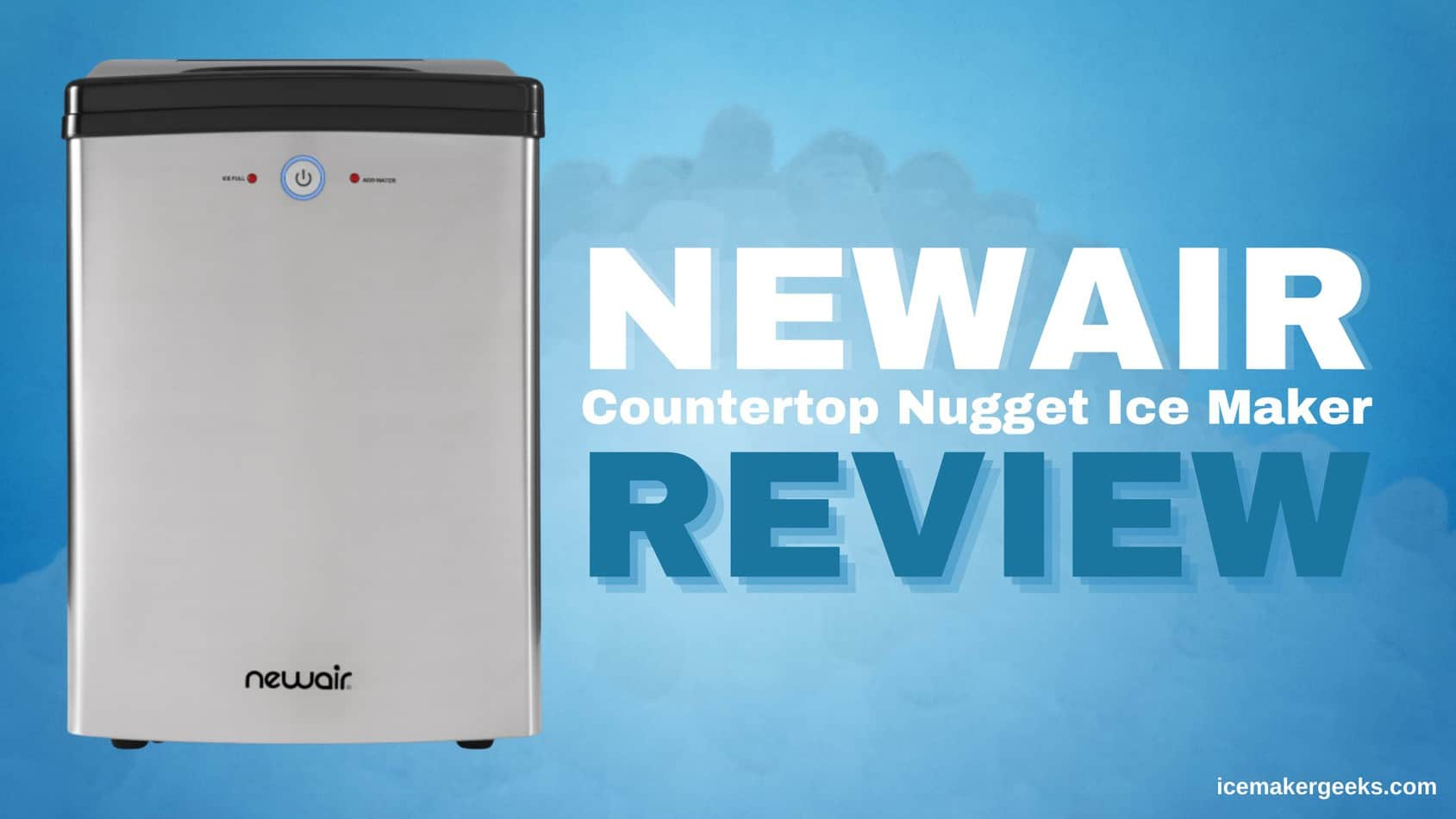 NewAir Countertop Nugget Ice Maker