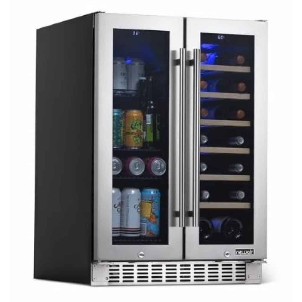 NewAir Premium 18 Bottle and 58 Can French Door Wine and Beverage Fridge Review