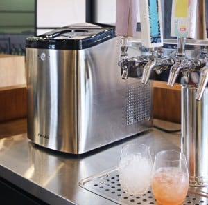 make nugget ice at home with the NewAir Nugget Ice Maker