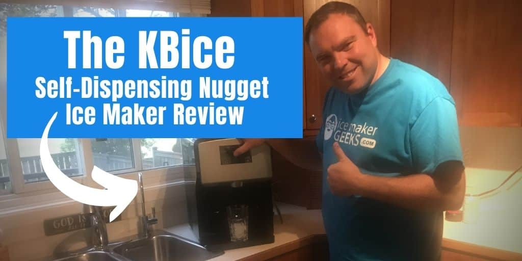 KBice Self-Dispensing Countertop Nugget Ice Maker Review