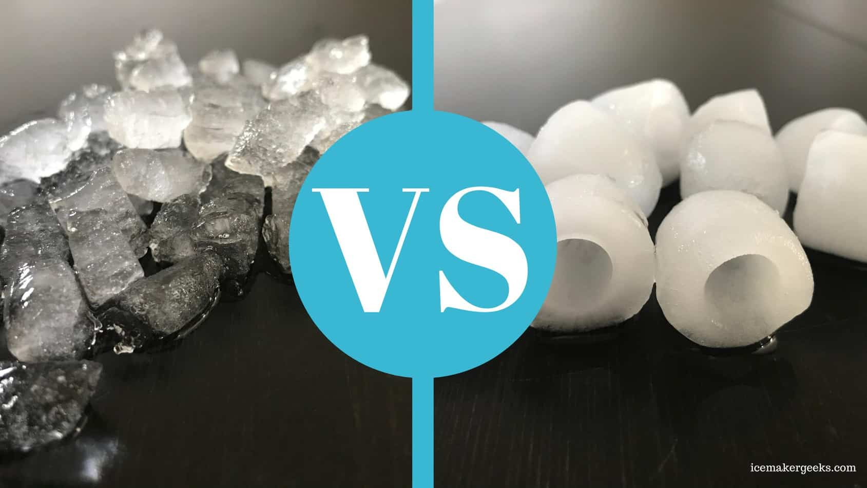 Nugget Ice vs. Bullet Ice
