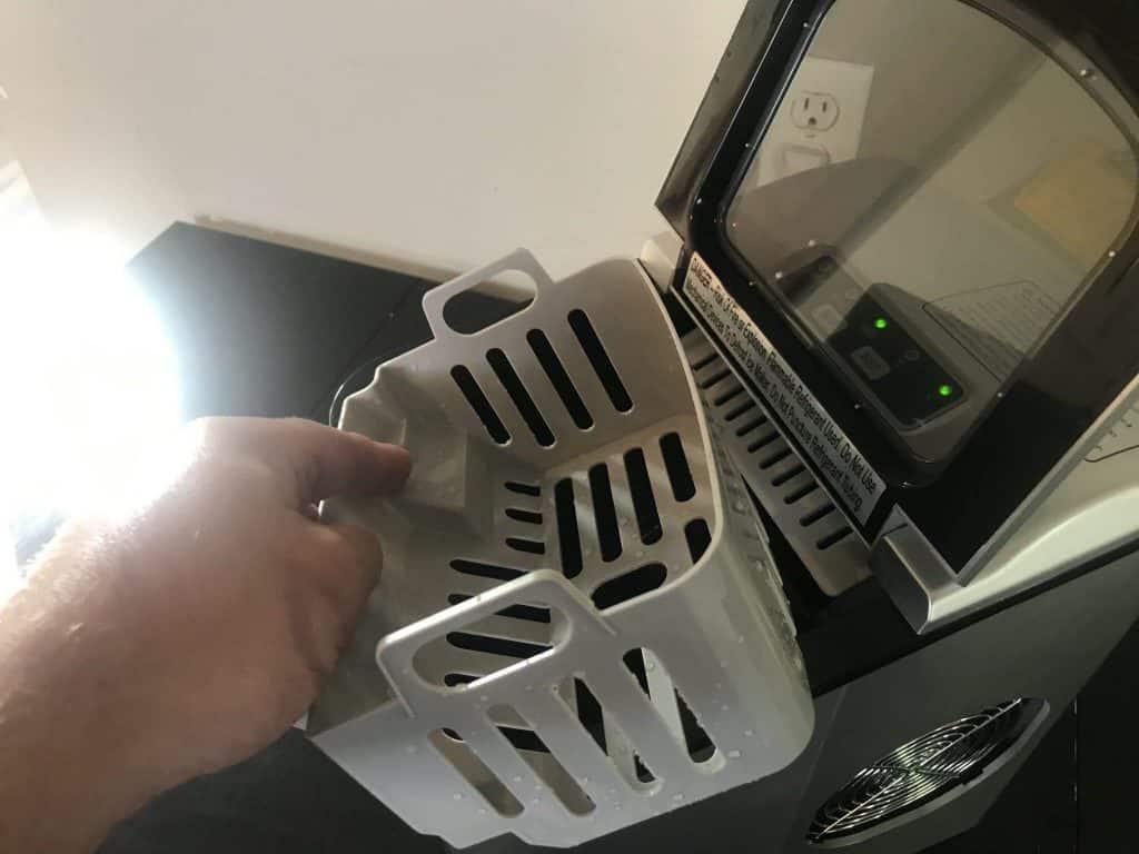 Ikich Portable Ice Maker Storage Bin