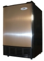 Sunpentown IM-150US Stainless Steel Undercounter Ice Maker with Freezer